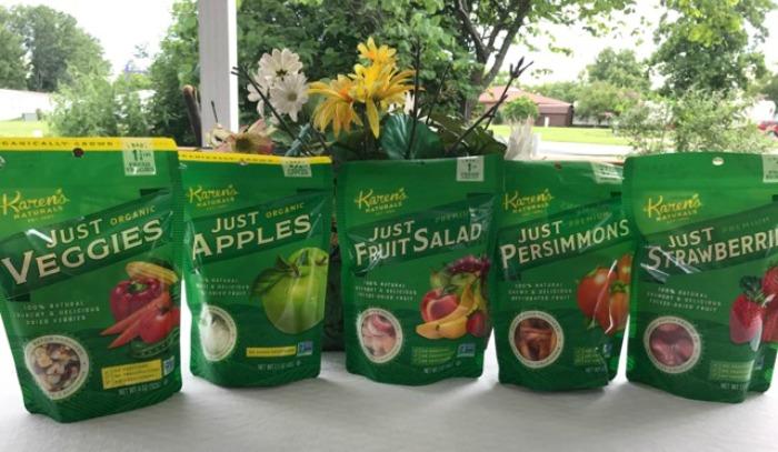Karen's Naturals Dried Fruit and Veggies