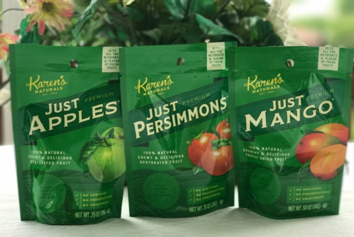 Karen's Naturals - apple, persimmons, mango