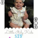 Little Italy Kids $75 Gift Code #Giveaway