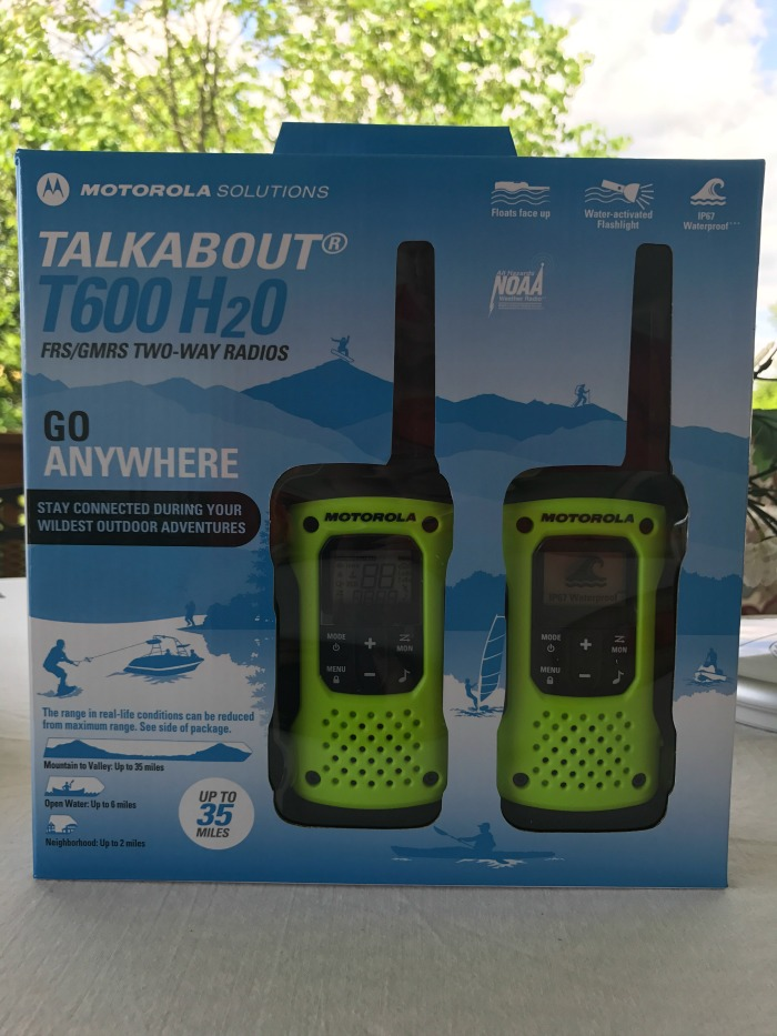 Motorola Solutions Talkabout T600 H2O Go Anywhere Walkie Talkies