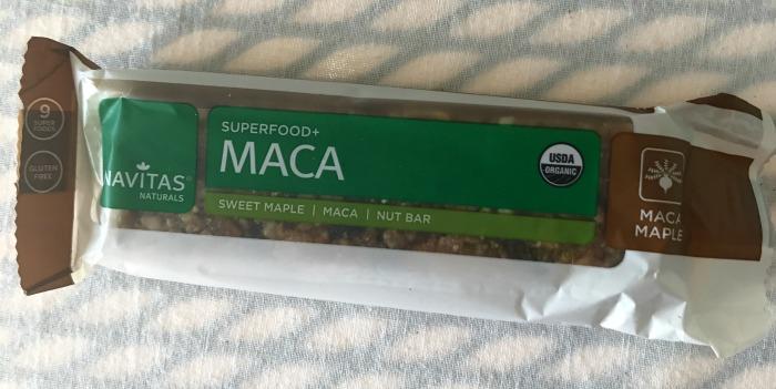 Navitas Naturals Superfood MACA Sweet Maple Nut Bar