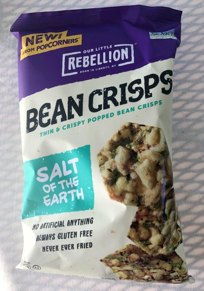 Our Little Rebellion Bean Crisps