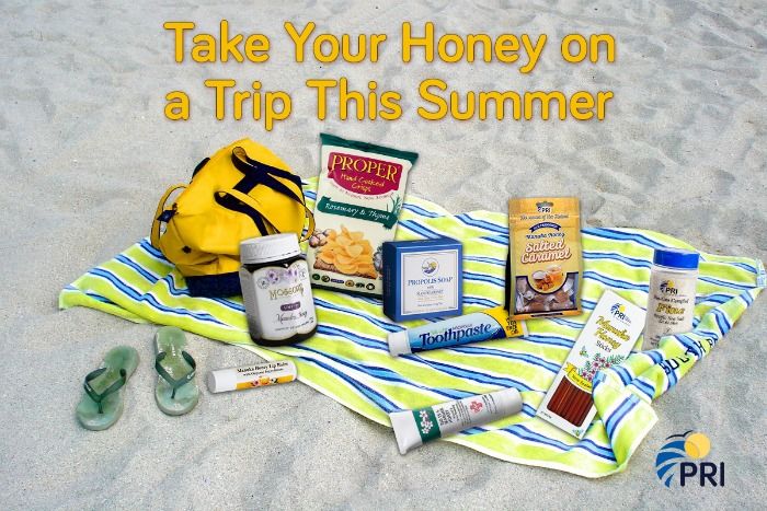 Make it a Sweet Summer Trip and Don't Forget to Take the Honey! #ManukaHealth #ShopPRI