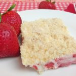 #12Daysof Sweet Summer Treats- Day 3- Strawberry Crunch Bars