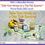Take Your Honey on a Trip This Summer Prize Pack #ManukaHealth #ShopPRI