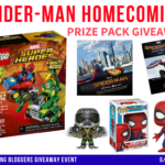Spiderman Homecoming Prize Pack Giveaway