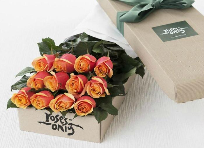 Roses Only UK Cherry Brandy Roses