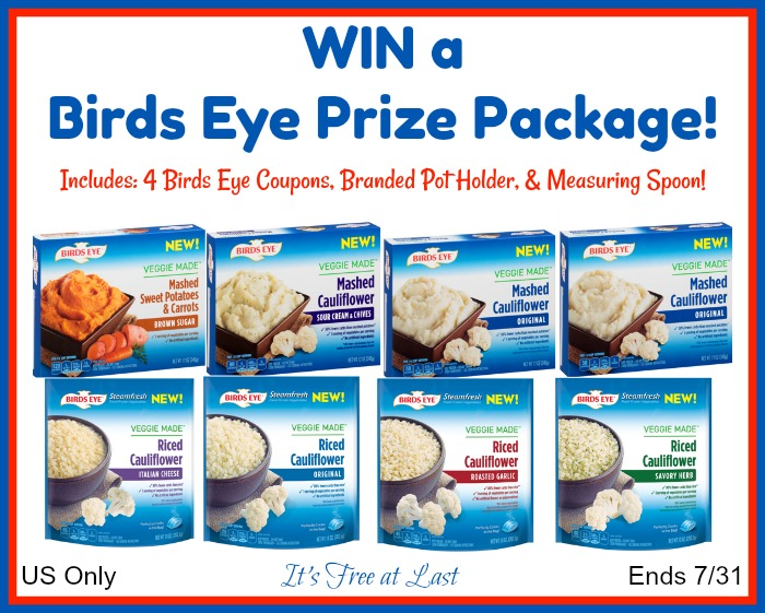 Birds Eye Prize Package Giveaway