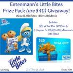 Entenmann's Little Bites Prize Pack (arv $40) Giveaway! #LoveLittleBites #SmurfsMovie