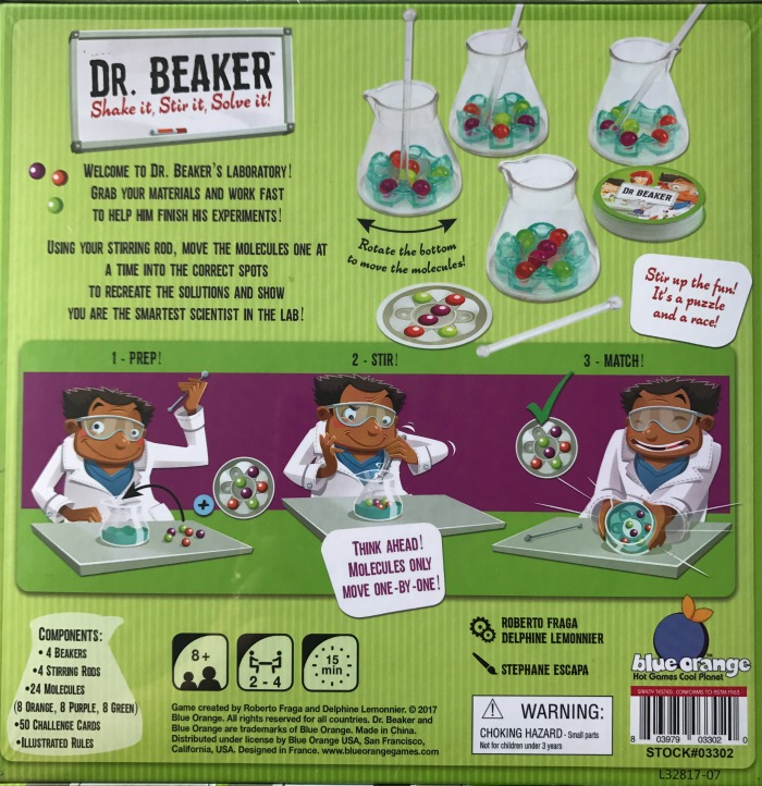 Dr. Beaker Shake It, Stir It, Solve It! Game