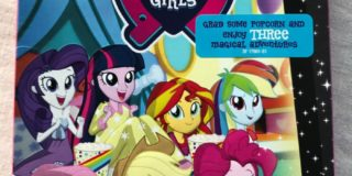 My Little Pony Equestria Girls Magical Movie Night on DVD August 8th