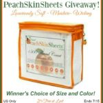 Win PeachSkinSheets in choice of size and color! #DadDay2017