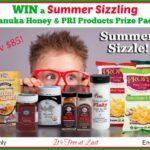 Summer Sizzling Manuka Honey & PRI Products Prize Pack (arv $85) Giveaway! #ShopPRI #SummerSizzle
