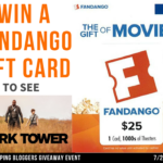 Win a $25 Fandango Gift Card to see The Dark Tower