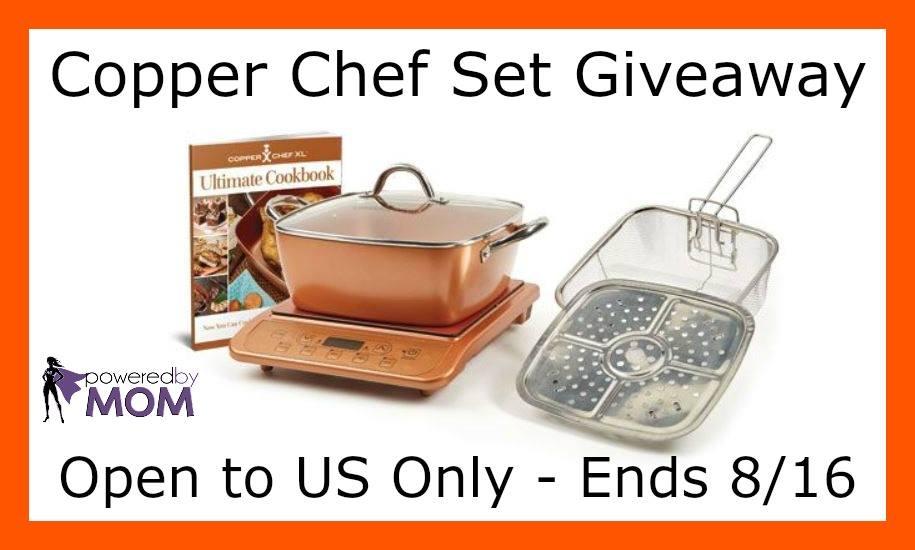 Win A Copper Chef 6 Piece Set It S Free At Last