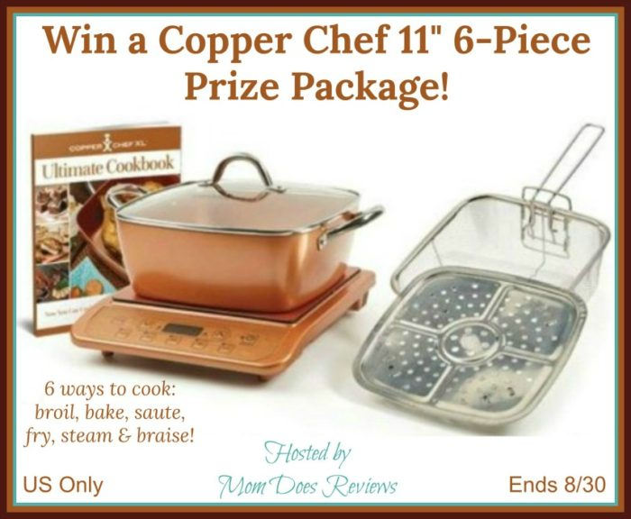 Win A Copper Chef 11 6 Piece Prize Package It S Free