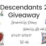 Descendants 2 Prize Pack Giveaway #descendants2giveaway