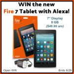 #Win a Kindle Fire 7 Tablet with Alexa