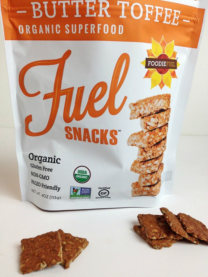 Foodie Fuel Snacks - Butter Toffee