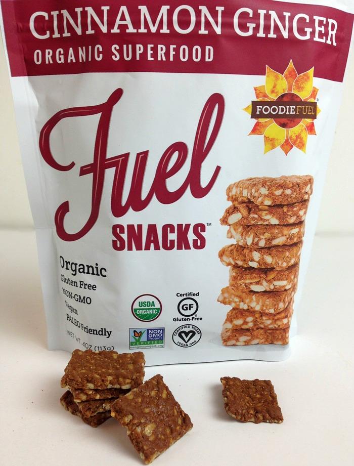 Foodie Fuel Snacks - Cinnamon Ginger