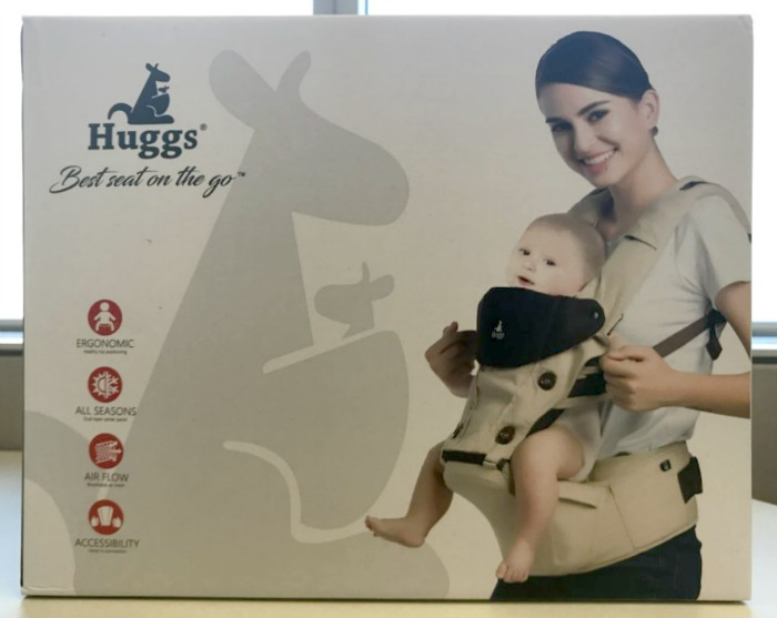 Abiie's Huggs Contour Baby Carrier