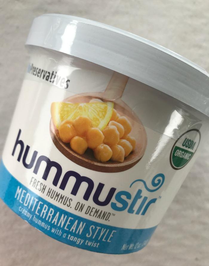 Hummus Stir - Mediterranean Style