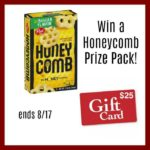 $25 Gift Card and Post Honeycomb Cereal Prize Pack Giveaway!