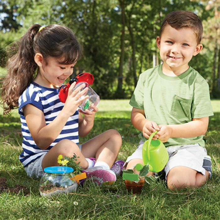 Fun Games to help Turn Summer Brain Drain into Brain Gain - Primary Science™ Outdoor Discovery Set