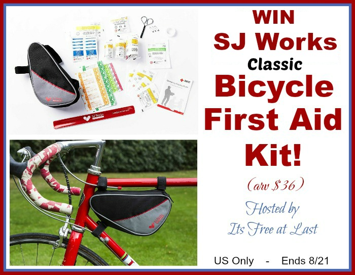 SJ Works Classic Bicycle First Aid Kit Giveaway