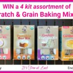 Scratch & Grain Baking Mixes Giveaway! #Scratchandgrain