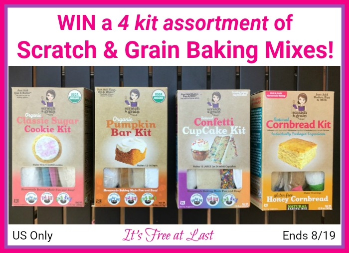 Scratch and Grain Baking Mixes Giveaway