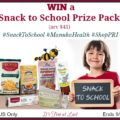 PRI Snack to School Prize Pack (arv $45) Giveaway! #SnackToSchool #ManukaHealth #ShopPRI
