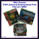 Summer STEM, Science & Stacking Games Prize Pack (arv $200) Giveaway!