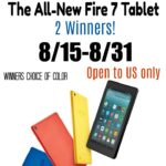 Enter to #Win an All-New Fire 7 Tablet