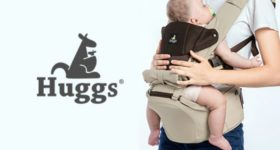 Abiie's Huggs Contour Baby Carrier is the Best Seat for Parents on the Go!