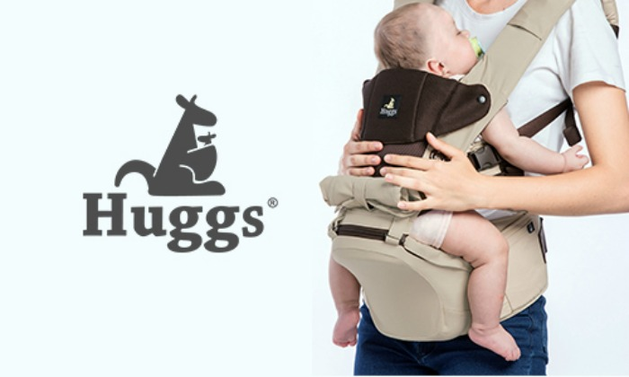 Abiie's Huggs Contour Baby Carrier is the Best for Parents on the Go