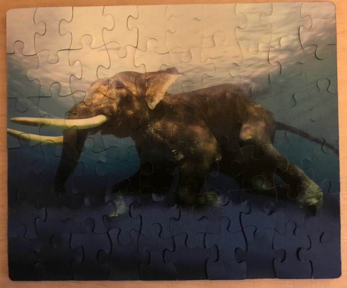 3D Lenticular Elephant Puzzle by The Purple Cow