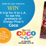 #SunRypeFamilySweepstakes Celebrating the release of Disney•Pixar's COCO #PixarCoco – Enter to Win a Premiere Screening Prize Pack