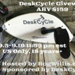 Enter to #Win a DeskCycle