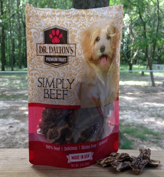 Dr. Dalton's Premium Dog Treats - Simply Beef