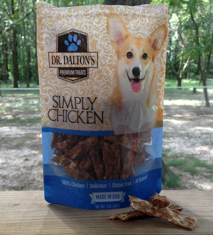 Dr. Dalton's Premium Dog Treats - Simply Chicken