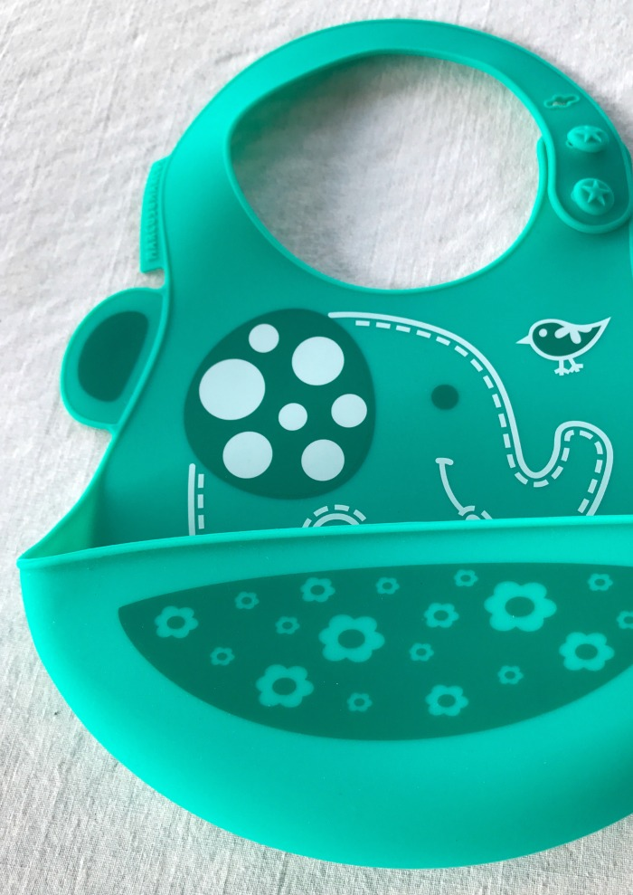Elephant Themed Baby Bib by Marcus & Marcus - All Things Elephant for Kids