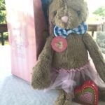 My Baby's Heartbeat Gender Reveal Bunny Perfect for Memorable Gender Reveal Party #MegaChristmas17