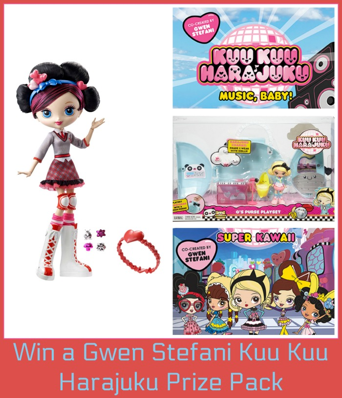 "Enter the Gwen Stefani's ""Kuu Kuu Harajuku"" Prize Pack. Ends 9/19"
