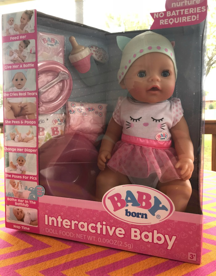 Baby Born Interactive Baby Doll is Every Little Girls Dream