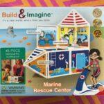 Build and Imagine Marine Rescue Center for fun Imaginary Play