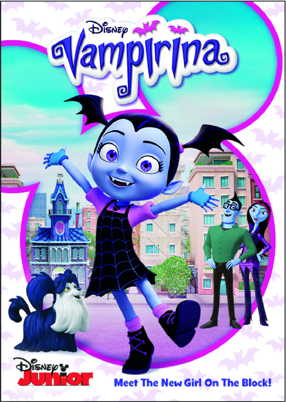 Meet the New Girl on the Block – VAMPIRINA – Available on DVD now!