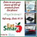 Win $50 from EatSmart Products #MegaChristmas17