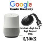 Google Home and Chromecast Bundle Giveaway