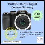 KODAK PIXPRO Digital Camera Giveaway